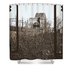 Reminiscent Of Earlier Travel Shower Curtain by James Aiken