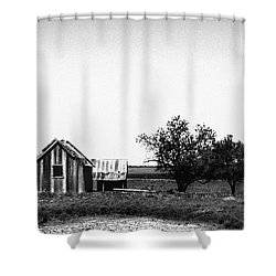 Remnants Of The Dust Bowl Shower Curtain