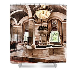 Shower Curtain featuring the photograph Renaissance Cleveland Hotel - 1 by Mark Madere