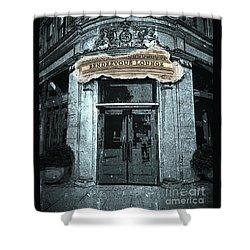 Shower Curtain featuring the photograph Rendezvous Lounge - Lancaster Pa. by Joseph J Stevens