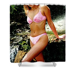 Rene Waterfall Shower Curtain by Gary Gingrich Galleries
