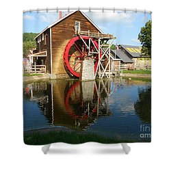 Renfro Valley  Mill Shower Curtain by Mary Carol Story