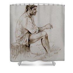 Repose Shower Curtain by Derrick Higgins