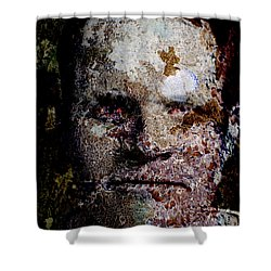 Reptile Man Shower Curtain by Christopher Gaston
