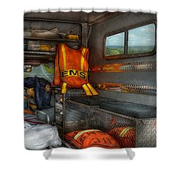Rescue - Emergency Squad  Shower Curtain