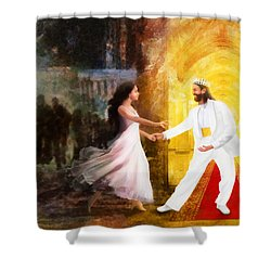 Rescued From Darkness Shower Curtain
