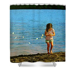 Rescuer Shower Curtain