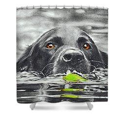Reservoir Dog Shower Curtain