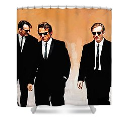 Reservoir Dogs Movie Artwork 1 Shower Curtain