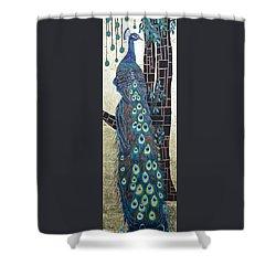 Resplendent Shower Curtain by Susan Duda