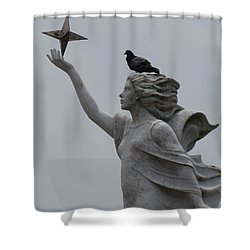 Shower Curtain featuring the photograph Resting by Beth Vincent