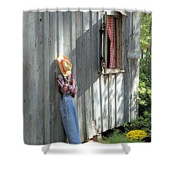 Shower Curtain featuring the photograph Resting by Gordon Elwell