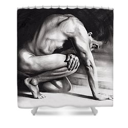 Resting Il Shower Curtain by Paul Davenport