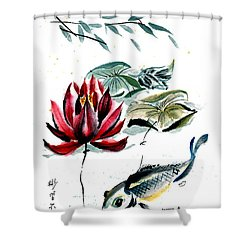 Resting Place Shower Curtain by Bill Searle