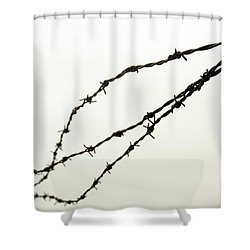 Restricted Shower Curtain by Kaleidoscopik Photography