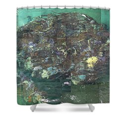 Resurrection - Uss Arizona Memorial Shower Curtain