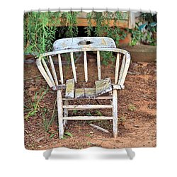 Shower Curtain featuring the photograph Retired by Gordon Elwell