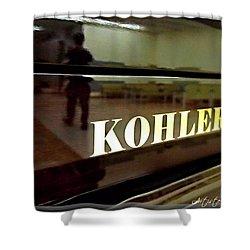 Retired Kohler Piano Shower Curtain by Danielle  Parent