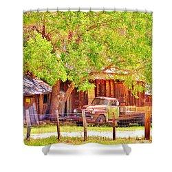 Retired Shower Curtain by Marilyn Diaz