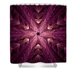 Shower Curtain featuring the digital art Returning Home by GJ Blackman