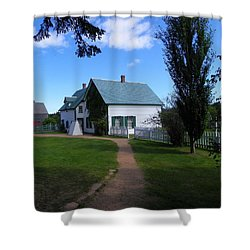 Returning To Green Gables Shower Curtain