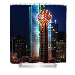 Reunion Tower Shower Curtain