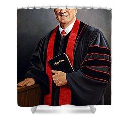 Rev Guy Whitney Shower Curtain