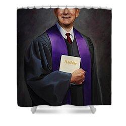 Rev Jack Wilson Shower Curtain