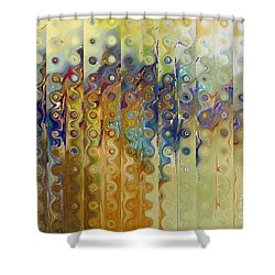 Revelation 3 10. The Faith To Persevere Shower Curtain by Mark Lawrence