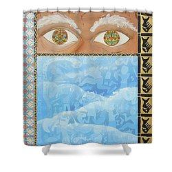 Revelations Shower Curtain