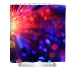 Revolution Shower Curtain by Dazzle Zazz