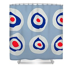 Revolver Shower Curtain by Colin Booth