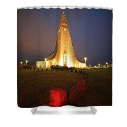 Shower Curtain featuring the photograph Reykjavik by Mariusz Czajkowski