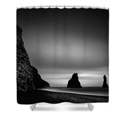 Reynisfjara Shower Curtain