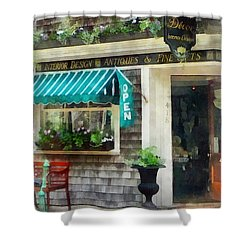 Rhode Island - Antique Shop Newport Ri Shower Curtain