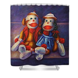 Rhyme And Reason Shower Curtain