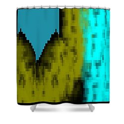 Rhythm Of The City  Shower Curtain by Cletis Stump