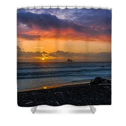 Rialto Sunset Shower Curtain