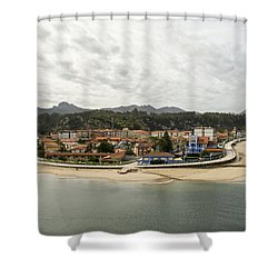 Ribadesella Shower Curtain by For Ninety One Days