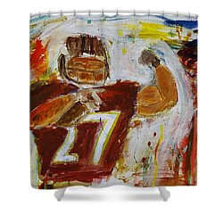 Rice Touchdown Shower Curtain