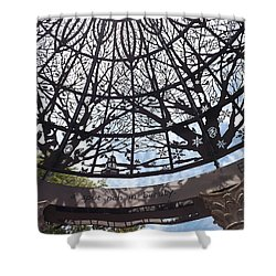 Rich In Beauty Shower Curtain