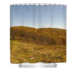 Rich Mountain Autumn Shower Curtain