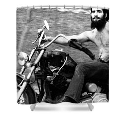 Ricky D Shower Curtain by Doug Barber