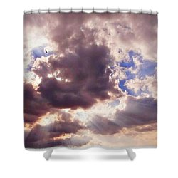 Riding The Invisible Shower Curtain by Glenn McCarthy Art and Photography
