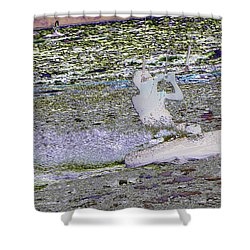 Riding With The Wind Shower Curtain by Jeff Swan
