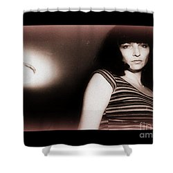 Shower Curtain featuring the photograph Right Thru Me by Steven Macanka