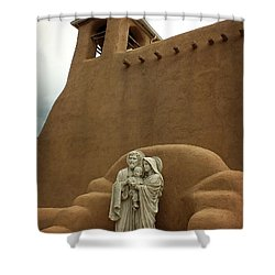 Righteous And Mercy Shower Curtain