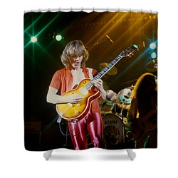 Rik Emmett Of Triumph At The Warfield Theater In San Francisco Shower Curtain
