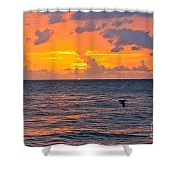 Rincon Sunset Shower Curtain