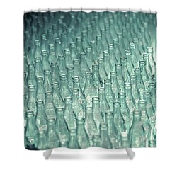 Ring Toss Coca Cola Bottles Shower Curtain